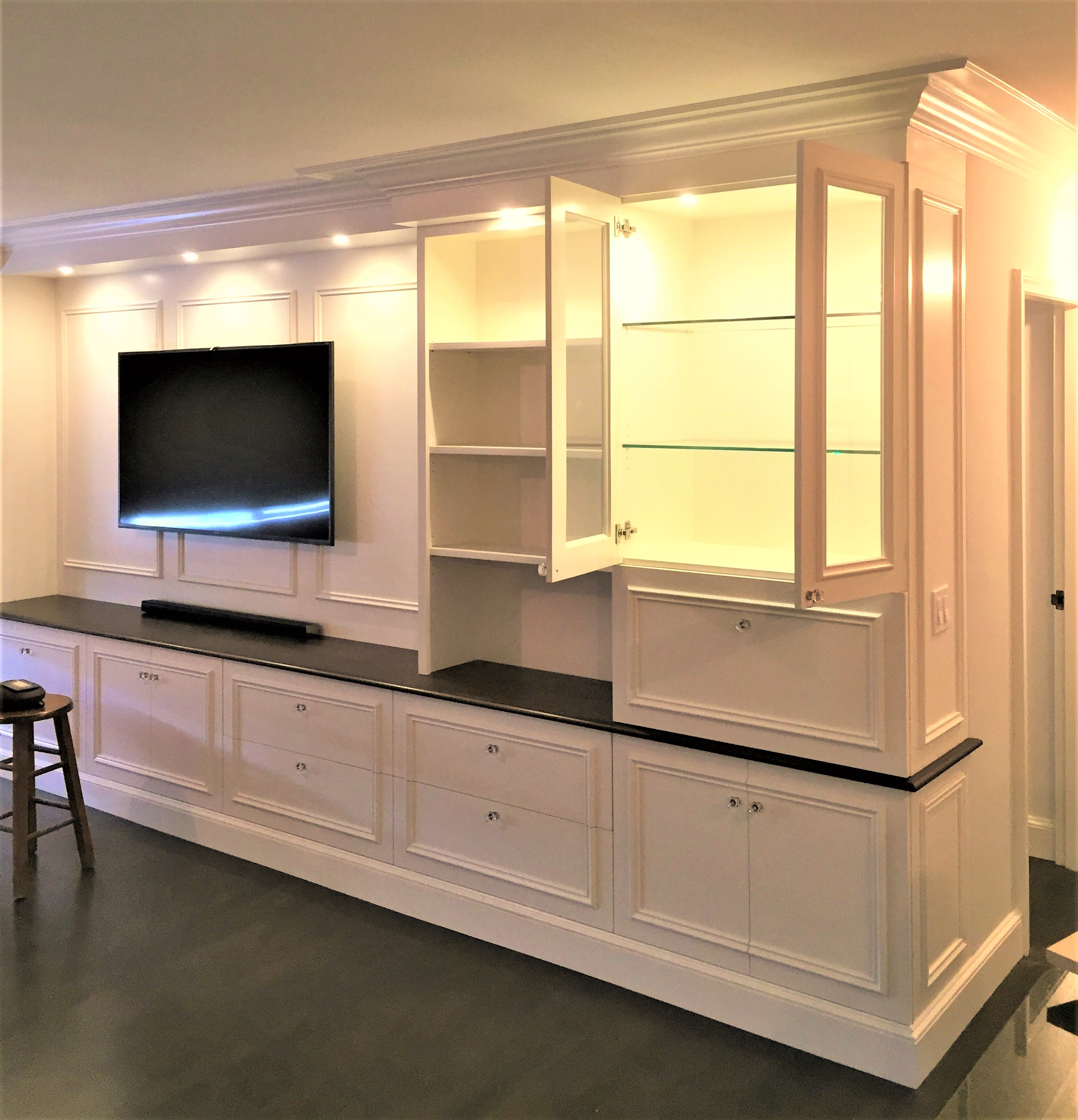 bar closet for built walk designs syst in with closets best inside small as master full w simple ideas clothes medium of organizer chrome hanging models inspiring well cool white rod on organization tier bedrooms wardrobe size
